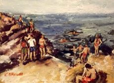 Forty Foot Bathers, Sandycove